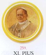 XI. Pius pápa