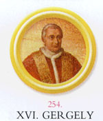 XVI. Gergely pápa
